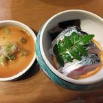 グルメ北木島 - 夕食の一部(1)