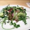 神保町 傳 - 料理写真:金目鯛と野草