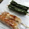 佐々木だんご店 - 料理写真:タレが50円、海苔が付くと+5円