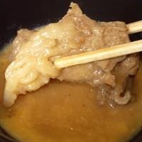 【新登場の焼肉メニュー】牛炙りすき焼き