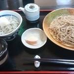蕎麦一 - 釜あげミニしらす丼セット