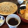 手打ちそば 福寿 - 料理写真:海老天丼そばセット 1330円
