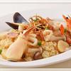レスタカード - 料理写真:ポートピアホテルの名物料理の1つ「シーフードピラフ」