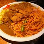 HANAMARU厨房 - トルコライス表(大盛り)