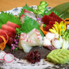 心 - 料理写真:本日入荷朝とれ鮮魚のお造り5種盛り合わせ