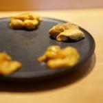 喜邑 - 雲丹の食べ比べ