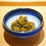 喜邑 - 鮑の肝リゾット