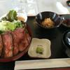 浅間牧場茶屋 レストラン - 料理写真:ローストビーフ丼