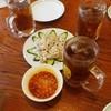 天福楼 - 料理写真:ウーロンハイ150円、豚バラのニンニク甘酢ソース500円