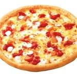ピザ・ロイヤルハット - 水牛のモッツァレラと完熟トマトソース  SS\570 S\1,080 M\1,840 L\3,280