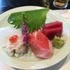 和食 了寛 - 料理写真:鮪、金目鯛、鱧のおとし、あおりいか。