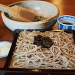 甲陽園 喜庵 - 料理写真:ざるそば