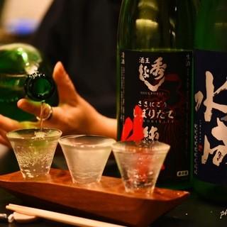 お一人様大歓迎♪日本酒が楽しめるBar