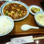 中国菜 オイル - 四川麻婆豆腐ランチ