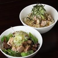 黒コショウ豚ご飯(さっぱりorコッテリ味)