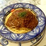 ジョイア・ミーア - ひき肉とトマトのスパゲッティ1188円