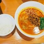 51634996 - 担々麺   ¥850、   サービスライス