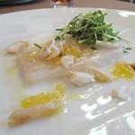 51636932 - 庄内浜 鯛のテリーヌと鯛の燻製