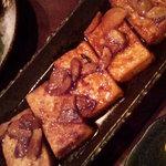 竹や - にんにく豆腐