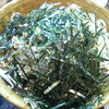 壬生 - 料理写真:大量の刻み海苔とゴマ