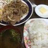 丸長食堂 - 料理写真:まさかのバター付きライス