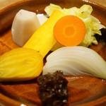 和しょく えびはら - 鎌倉野菜の蒸し物