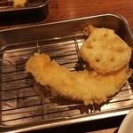 天ぷらの山 - 料理写真: