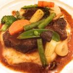 ビストロ レスカリエ - 牛バラ肉の赤ワイン煮込み