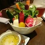 Brasserie 雪乃下 - 鎌倉野菜のバーニャカウダ