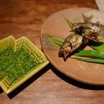燕 - 鮎の塩焼き