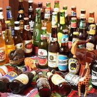 世界40種類の海外ビール飲み放題プラン人気!ビールで旅する!