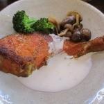 Mjuk - 鮭のカレームニエルマヨグルトソース