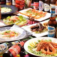 【世界の美味しい!を集めた多国籍創作料理コース料理がお得!】