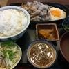 いります食堂 - 料理写真:豚バラ肉ジュージュー焼き定食(税込850円)。タレはにんにくタレ。