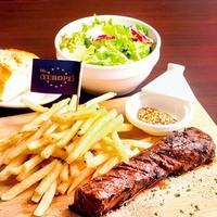 【豪快・塊肉!】バベットステーキ