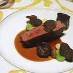 ル サロン ジャック・ボリー - 和牛のフィレ肉のソテー、ソースジュドトリフ