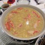 重慶飯店 - 蟹肉入りコーンスープ2016.05.29