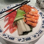 重慶飯店 - 四種前菜盛り合わせ2016.05.29