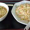 わらべ亭 - 料理写真:焼きめしとミニラーメンのセット550円