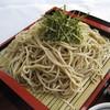 天塩川温泉 - 料理写真:源泉 ざるそば