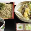 天塩川温泉 - 料理写真:源泉 天ざるそば