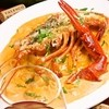 オステリア・バッカーノ - 料理写真:6月のおすすめ…オマール海老と小海老のトマトクリーム フェットチーネ