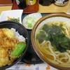四ツ木製麺所 - 料理写真:Aセット¥750