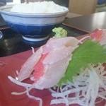 鈴女 - 金目鯛刺身