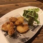 鉄板バルサンパチキッチン - 海老のフリット