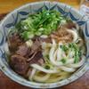 勝一 - 料理写真:「肉うどん(大盛)」560円(2016.2)