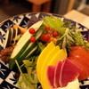 裏照ラス - 料理写真:生野菜盛合わせ