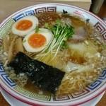 ちばき屋 - ワンタン麺。