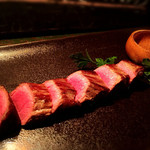 コトノハ・mog-mog食堂 - もとぶ牛のステーキ