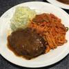 ロビン - 料理写真:再訪  ハンバーグスパゲティ(ナポリタン) 830円